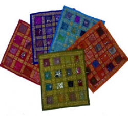 Embroided Patchwork India Handicraft Cushion Covers